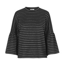 Mads Nørgaard Brendy Black/Silver Bluse