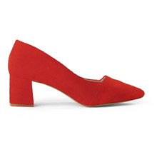 Shoe The Bear Red Allison Pumps