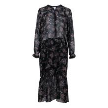 Neo Noir Black Wonda Flower Dress