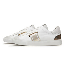 Via Vai Hvid Vitello Combi Oro Sneakers