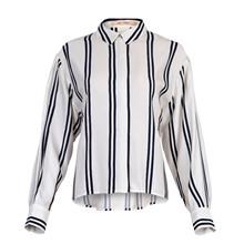 Rue de Femme Hvid/Navy Bibbi Shirt
