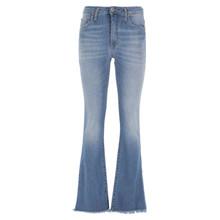 Please Denim Longcut Boot Cut Jeans