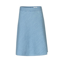 Mads Nørgaard Stelly Light Denim Skirt