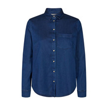 Mos Mosh Tilda Denim Shirt Dark Blue
