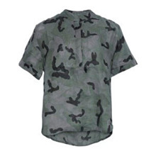 Tiffany Camouflage Epsi Short Top Linen