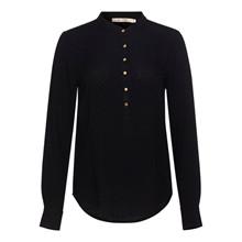 Rue De Femme Dot Shirt Black/Gold