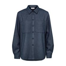 NORR Navy Helia Shirt