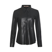 Rue De Femme Sort Andie Leather Shirt
