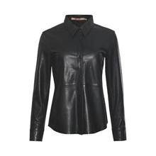 Rue De Femme Sort Andie Leather Shirt