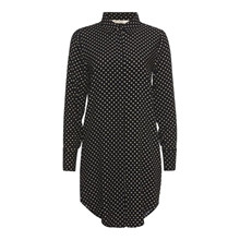 Rue De Femme Black Dot Backie Long Shirt