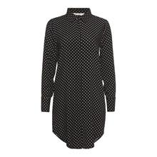 Rue De Femme Black Dot Backie Long Shirt