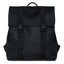 Rains Black Buckle MSN Bag