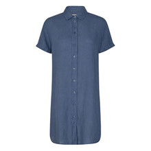 Mos Mosh Vintage Indigo Brielle Linen Tunic