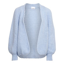 Noella Light Blue Fora Knit Cardigan