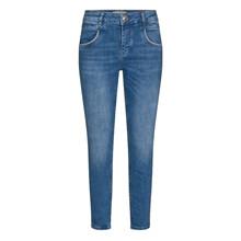 Mos Mosh Naomi Gloss Jeans Blue Cropped