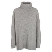 Basic Apparel Light Grey Melange Line T-Neck