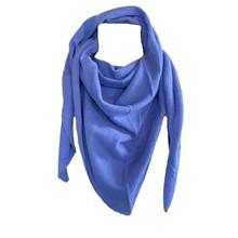 Rosas Blue Harbou Triangle Scarf