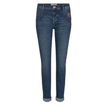 Mos Mosh Nelly Jane Jeans Blue Regular