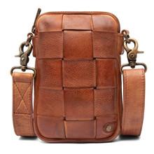 Depeche Cognac Mobile Bag Flet