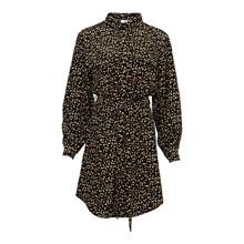 Noella Fleur Shirt Dress Black/Camel