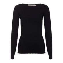 Rue De Femme Black Millie Knit