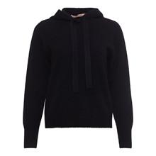 Rue De Femme Black Woolsie Knit