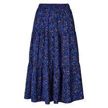 Lollys Laundry Blue Flower Print Morning Skirt