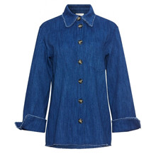Heartmade Refia Jacket Blue