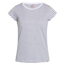 Mads Nørgaard White/Grey Melange Organic Favorite Stripe Teasy