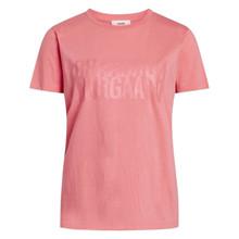 Mads Nørgaard Strawberry Pink Single Organic Trenda T-Shirt