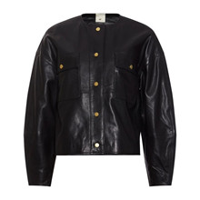 Heartmade Sort Julin Leather Jacket