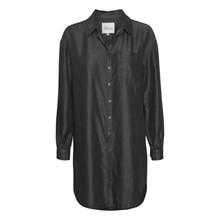 My Essential Wardrobe Shade Long Shirt Grey Wash