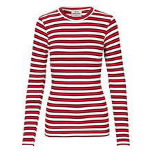 Mads Nørgaard Rød Stripe Tuba T-shirt