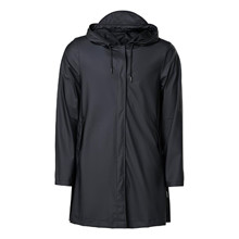 Rains A-Line Jacket Black