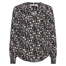 Rue De Femme New Rossa Shirt Flower Black