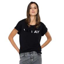 Replay Black Crew Neck T-Shirt