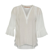 Rue de Femme Off White Tennessee Blouse