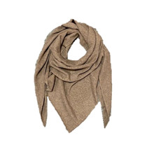 Rosas Brown Melange Scarf Triangel