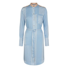 Mos Mosh Rory Island Dress Bel Air Blue