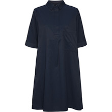 Norr Mimi Navy Dress