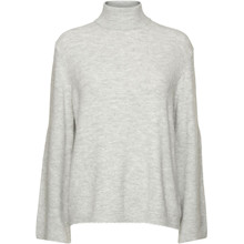 Norr Light Grey Andy Knit Top