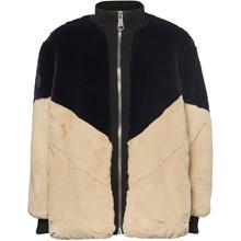 Norr Beige/Navy Jessy Jacket