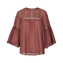 Lollys Laundry Brandy Blouse Dusty Mauve