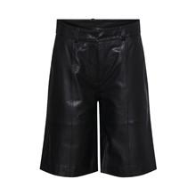 Heartmade Noam Shorts Black Leather