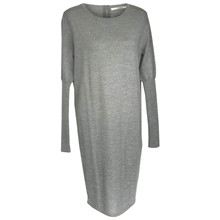 Sibin Linnebjerg Light Grey Ella Kjole