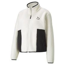 Puma Hvid CLSX Sherpa Track Jacket