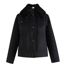 Noella Navy Suki Jacket Wool