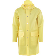 Rains Yellow Hooded Coat