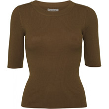 Norr Kylie SS Top Brown