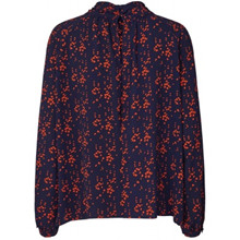 Lollys Laundry Honda Blouse Navy